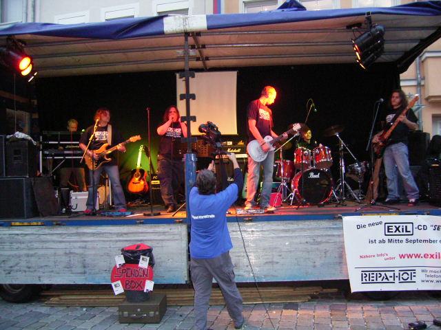 EXiL-Konzert Altstadt Hof 011